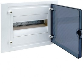 Cuadro electrico empotrable HAGER GOLF VF112TEcon puerta transparente