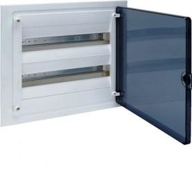 Cuadro electrico empotrable HAGER GOLF VF218TEScon puerta transparente