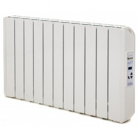 Radiador electrico Farho ECG11serie ECO GREEN blanco 11 modulos 1.210W