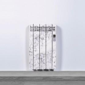 Radiador electrico Rointe DNA0330RMM Glacier Designline Marmol blanco 3 modulos 330W