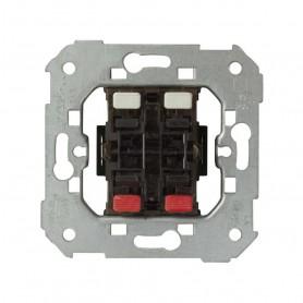 Grupo de 2 pulsadores para persiana10AX Simon 75396-039sin sistema de enclavamiento