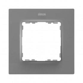 Marco para 1 elementoSimon 82 Concept 8200617-092Gris