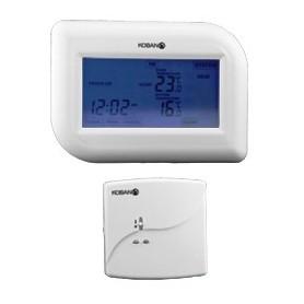 Cronotermostato tactil wirelesspara calefaccion y Aire AcondicionadoKoban KCT17-W-RF0769017
