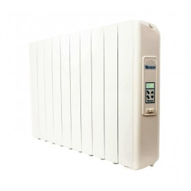 Radiador electrico Farho XPU10serie XANA PLUS ULTRA XPU blanco 10 modulos 1.650W