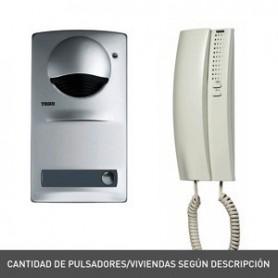 Kit portero electronico de superficieTegui A1 (2 viviendas) Serie7 375020