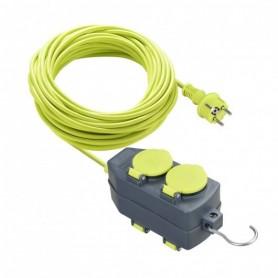 Prolongador con soporteMasterplug Luceco EXE15164HD-PX 4 TOMAS IP44 16A15Mt