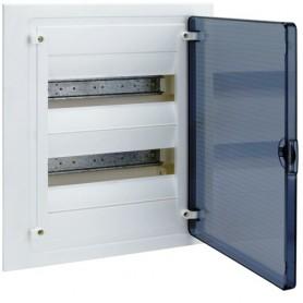 Cuadro electrico empotrable HAGER GOLF VF212TEcon puerta transparente