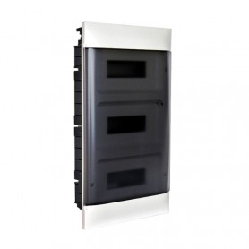 Cuadro electrico empotrable Legrand Practibox S 135053con puerta transparente 36 modulos