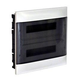 Cuadro electrico empotrable Legrand Practibox S 137047con puerta Transparente 36 modulos