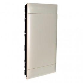 Cuadro electrico empotrable Legrand Practibox S 137049con puerta opaca 72 modulos