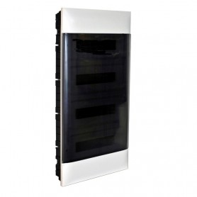 Cuadro electrico empotrable Legrand Practibox S 137059con puerta transparente 72 modulos
