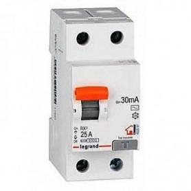 Interruptor Diferencial Superinmunizado Legrand 402059RX3 para vivienda 2 polos 25 A 30ma