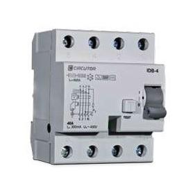 Interruptor diferencial TIPO B CIRCUTOR RECB4 4POLOS 63A 300ma P17222.