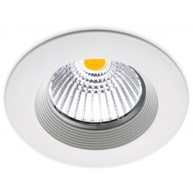 Empotrable de techo Arkoslight DOT FIX 7,5W 2700K A0610210W Blanco