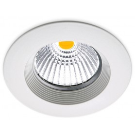 Empotrable de techo Arkoslight DOT FIX 7,5W 3000K A0610211W Blanco