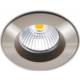 Empotrable de techo Arkoslight DOT FIX 5W 3000K A0610111NS Niquel satinado