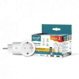 Pack de 2 Enchufes inteligentesWIFIGARZA SMART HOME 401282