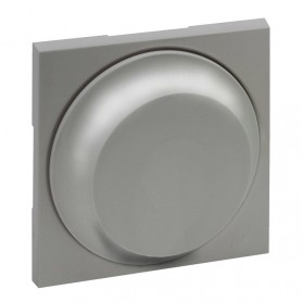 Tecla para regulador giratorioLegrand 864317serie Niloe Step Aluminio
