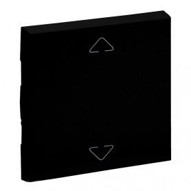 Tecla para mecanismos persiana Legrand 864530serie Niloe Step Negro Mate