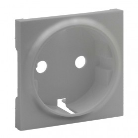 Tapa para Enchufe Schuko 2P+T Legrand 864320serie Niloe Step Aluminio