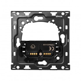 Kit Back 1 elemento SIMON 100 con 1 interruptor regulable10010113-039