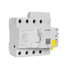 Interruptor diferencial autorearmable TIPO B CIRCUTOR RECB4 4POLOS 40A 300ma P26G23.