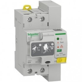 Interruptor Diferencial rearmable A9CR1240Schneider Electric 2X40A 30mA