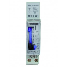 Interruptor horarioanalogicoTHEBEN SYN160acarril din 1600087