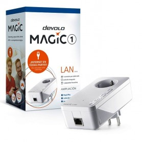 Extension PLC y enchufe de comunicacion Magic 1 Lan Devolo 8293