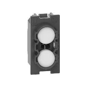 Portalamparas señalizacionBticino K4371 Living Nowcon difusor transparente