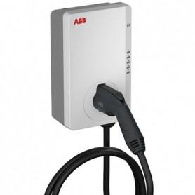 Cargador vehiculo electrico monofasico TAC-W7-G5-R-0ABB Terra ACTipo 2 32A 7,4KW 6AGC082155 con cable de 5mt.