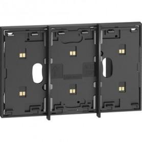 Marco electrificado Living Nowpara caja de 2 modulosBticinoKG8102P1para instalaciones MyHOME