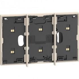 Marco electrificado Living Nowpara caja de 2 modulosBticinoKW8102P1para instalaciones MyHOME