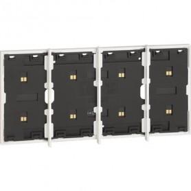 Marco electrificado Living Nowpara caja de 3+1 modulosBticinoKW8103P1para instalaciones MyHOME