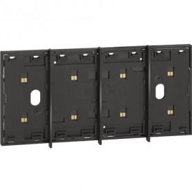 Marco electrificado Living Nowpara caja de 4 modulosBticinoKG8104para instalaciones MyHOME