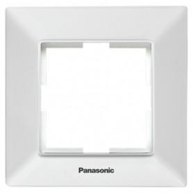 Marco para 1 elemento Panasonic Viko WNTF00012WH Arkedia SlimBlanco