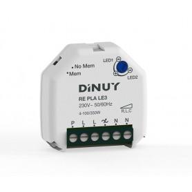 Regulador para lamparas LED con bornas DINUYRE PLA LE3