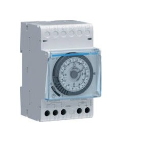 Interruptor horario Hager EH11116A 230V con reserva