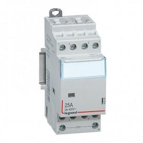 Contactor4P 25A 4NA 230V 2 módulo Legrand CX3 412535
