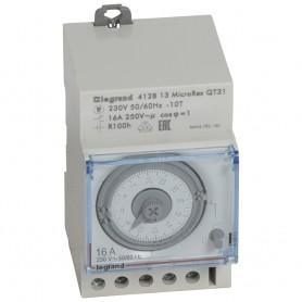 Interruptor Horario analogico Legrand 412813 Con reserva
