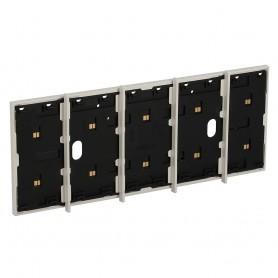 Marco electrificado Living Nowpara caja de 4+1 modulosBticinoKW8104P1para instalaciones MyHOME