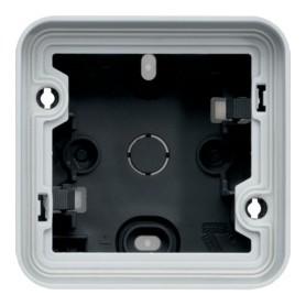 Caja simple Componible de superfcicie estanco HAGER Cubyko WNA681 IP55