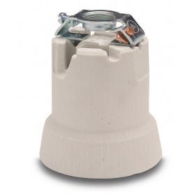 Portalámparas cerámica E-40 Famatel 801con soporte 3/8G