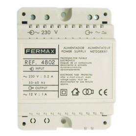 Alimentador DiN4FERMAX 4802230VAC/12VAC-1A