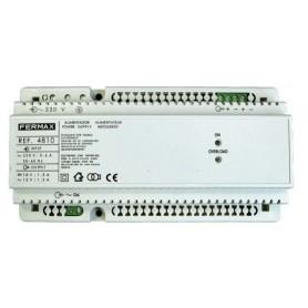 Alimentador carril Din10Fermax 4810230VAC/12VAC +18VDC-1.5A