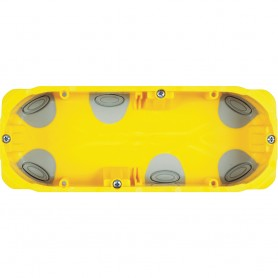 Caja de empotrar tabiques huecosBticino PB506N6/7 Modulos