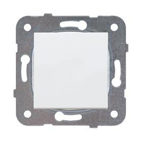 Interruptor unipolar 10AX Panasonic Viko WKTT01012WH Karre Plus Blanco