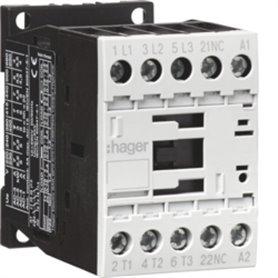 Contactor 3P+1NC 12AHager EV01201C 230V