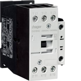 Contactor 3P+1NA18AHager EV01810C 230V