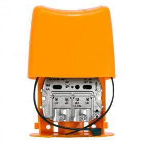 Amplificador de mastil3 entradas: UHF-VHFMIX-FIMIXTeleves 561620 Nanokom (LTE C.48/60)